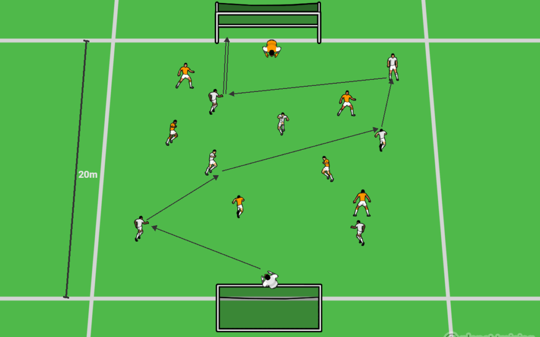 Combining to create and utilize space for a shot – U9-U12